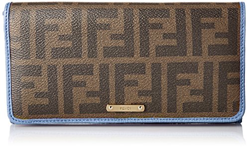FENDI Zucca pattern 8M0298-00GRP / F031V PVC coating wallet