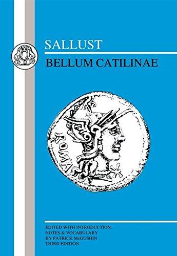 Sallust: Bellum Catilinae (Latin Texts)