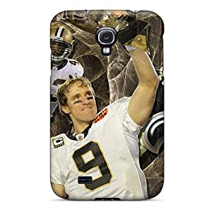 Cases Covers For Galaxy S4 Strong Protect Cases - New Orleans Saints Design