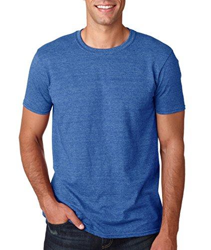 Gildan Adult Softstyle T-Shirt 64000 - Heather Royal_XL ()