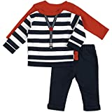 Petit Lem Baby Boys' 3pc Set, Holiday, 12 Months