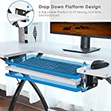 BAHOM Adjustable Sewing Craft Table
