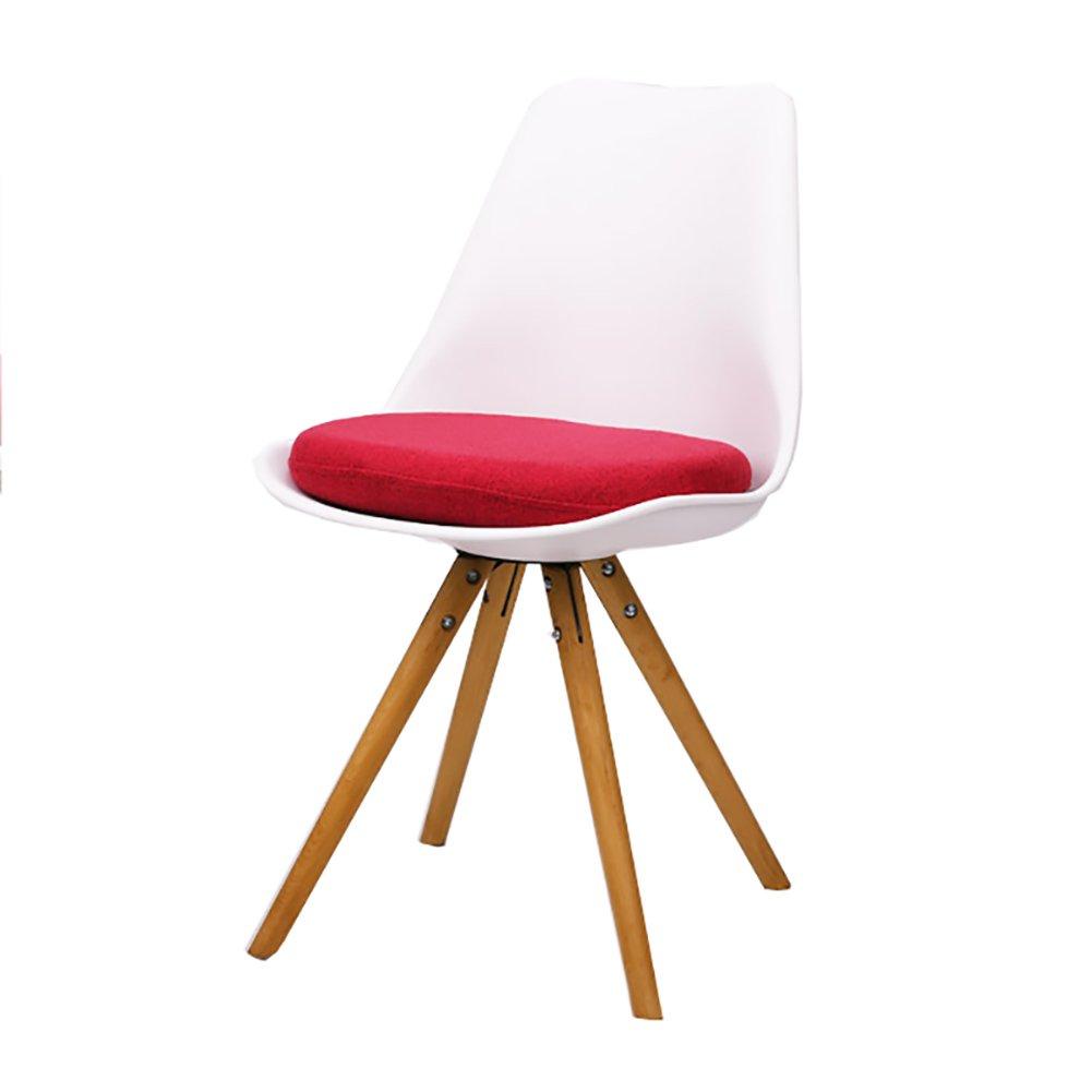 ZJMキッチン用の椅子ソファーベッドラウンジディナーチェアクリエイティブチェアオフィスチェア (色 : 白, サイズ さいず : Set of 3) B07F9P8RLB Set of 3|白 白 Set of 3