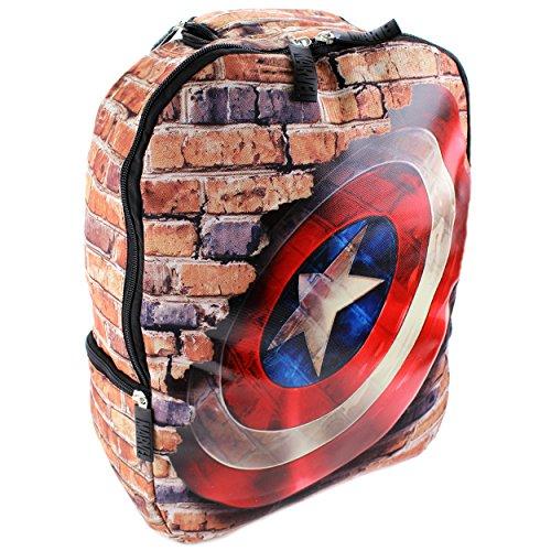marvel-avengers-captain-america-17-inch-digital-friendly-backpack-captain-america-black