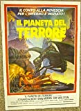 GALAXY OF TERROR - ORIGINAL 1981 ITALIAN POSTER - SEXY SPACE WOMAN WITH ALIEN