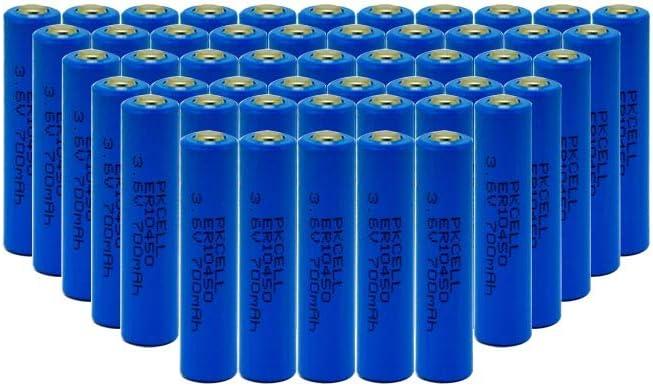 10450 Battery 3.6V AAA ER10450 700mAh Li-SOCl2 Battery 50pcs 51KTFwemNPLSL1000_