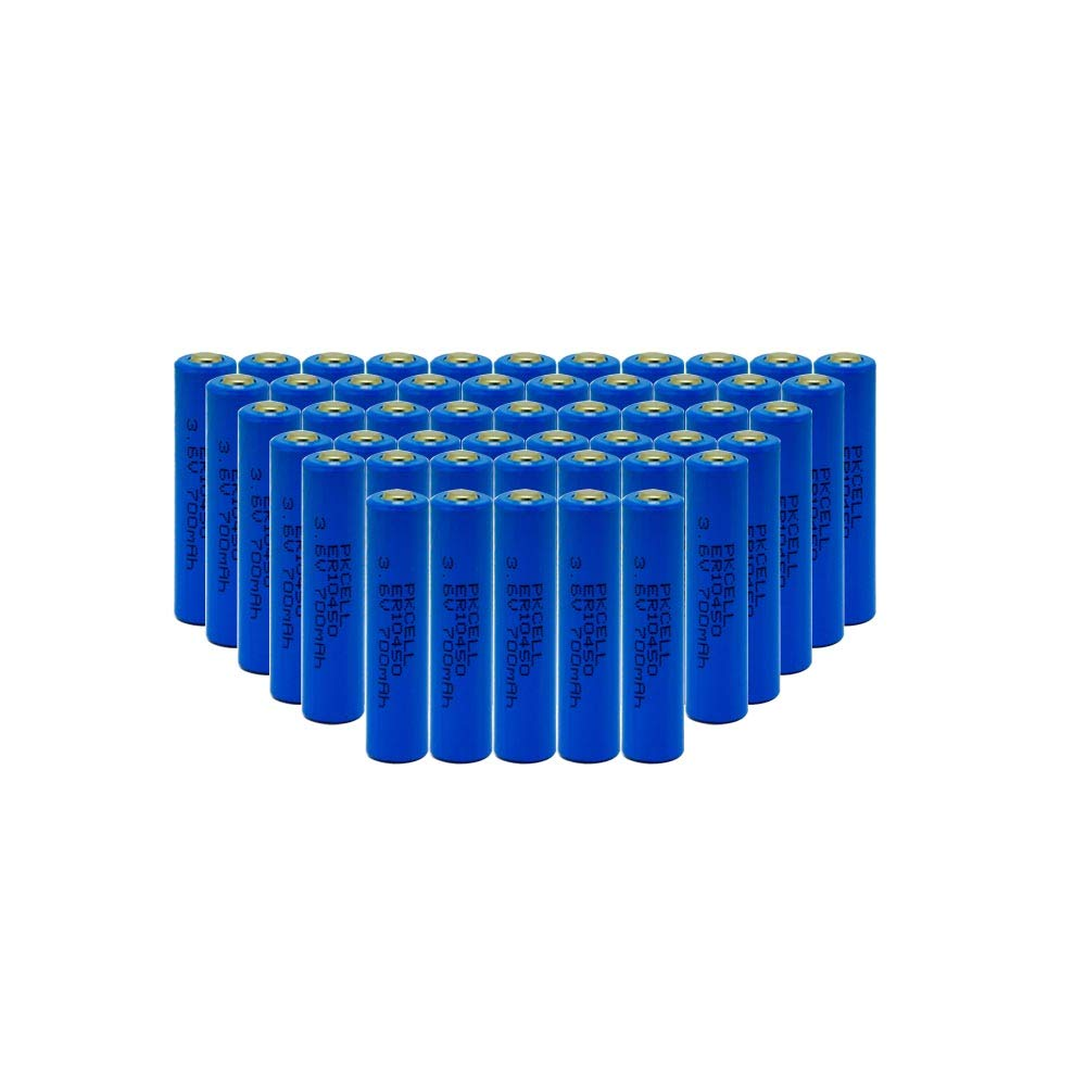10450 Battery 3.6V AAA ER10450 700mAh Li-SOCl2 Battery 50pcs
