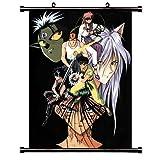 ActRaise Yu Yu Hakusho Anime Fabric Wall Scroll Poster (16