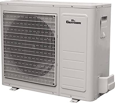 GARRISON 1028244 R-410A Outdoor Mini-Split Ductless Heat Pump, 22000 BTU, White