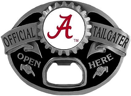 Alabama Crimson Tide Officially Licensed Tailgater Bottle Opener Belt Buckle