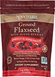 Health & Personal Care : Spectrum Essentials Ground Flaxseed with Mixed Berries, 12 Ounce
