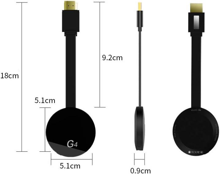 Grborn Wecast WiFi Display Dongle 1080P HD Adaptateur R/écepteur Miracast Adaptateur de convertisseur /écran sans Fil Adaptateur DLNA Airplay