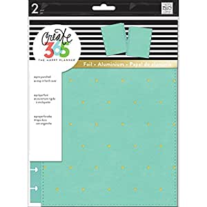 me & my BIG ideas  COLC-04 Create 365 The Happy Planner Classic Snap In Cover, Hard Sky Blue Dot