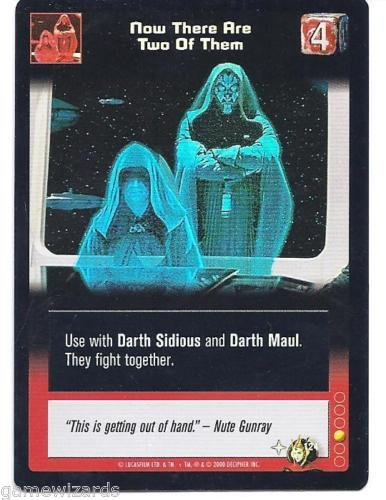 STAR WARS YOUNG JEDI CCG TOURNAMENT FOIL NOW THERE ARE TWO OF THEM 18TF