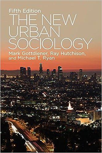 Book The New Urban Sociology