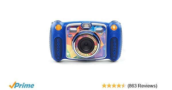 Amazon Com Vtech Kidizoom Duo Selfie Camera Amazon Exclusive Blue Toys Games