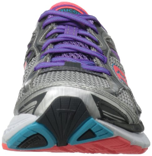 Guide Coral Running 7 Silver PowerGrid Purple Saucony Femme qxfBUPZaS1
