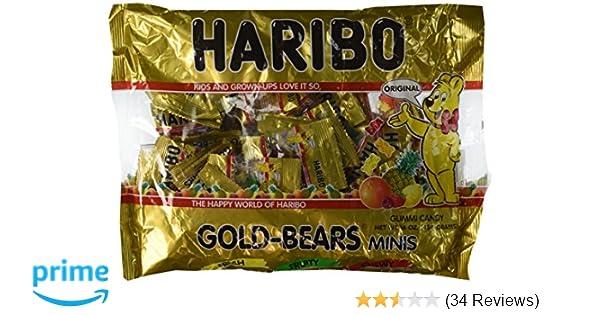 Haribo Gold-Bears Minis - Approximately 40 Individual Mini Bags, 16 Ounce Bag