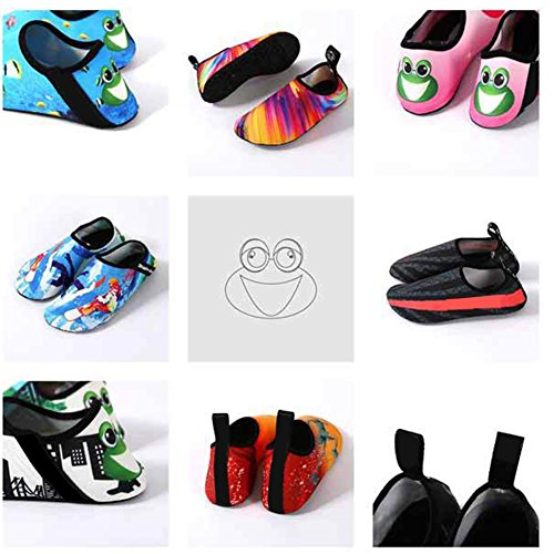 YiWa suave buceo agua zapatos comodidad Unisex antideslizante Fitness calcetines zapatos descalzo nadar agua para playa piscina Surf Buceo Yoga Water Skiing Male