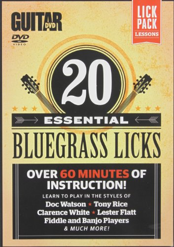 (Guitar World -- 20 Essential Bluegrass Licks: Over 60 minutes of instruction! (DVD))