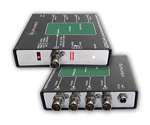 Aes Distribution Amplifier - GDA 1x4 3G/HD/SD-SDI, AES, ASI, MADI Distribution Amplifier