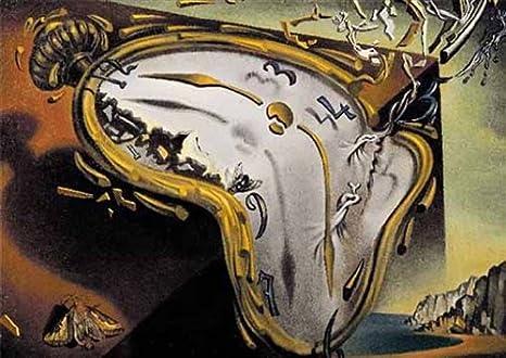 Editions Ricordi 6001N33003- Puzzle de 2000 piezas del cuadro Los relojes blandos de Dalí: Amazon.es: Juguetes y juegos