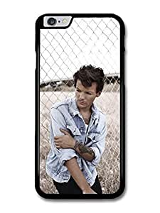 """AMAF ? Accessories Louis Tomlinson Denim Jacket Tatoo 1D One Direction case for iPhone 6 Plus (5.5"""")"""