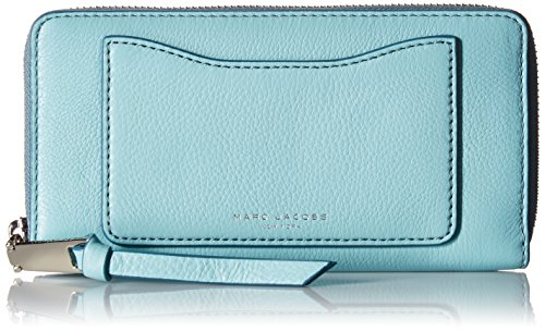 Marc Jacobs Recruit Standard Continental Wallet, Azure by Marc Jacobs