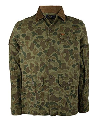 Polo Ralph Lauren Men's Camo Twill Overshirt Jacket Medium Camo
