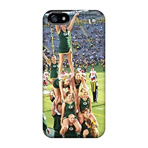 XVkbBrC1789JxIYt Snap On Case Cover Skin For Iphone 5/5s(green Bay Packers Cheerleaders)