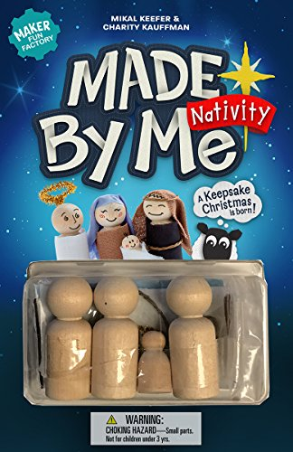Made-by-Me Nativity (Maker Fun Factory)