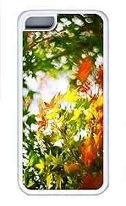 LJF phone case iphone 6 plus 5.5 inch case, Cute Maple Leaf 2 iphone 6 plus 5.5 inch Cover, iphone 6 plus 5.5 inch Cases, Soft Whtie iphone 6 plus 5.5 inch Covers