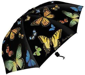 Harold Feinstein Collapsible Summer Butterflies Umbrella