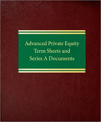 Amazon advanced private equity term sheets and series a amazon advanced private equity term sheets and series a documents securities series 9781588521200 joseph w bartlett ross p barrett fandeluxe Images