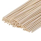 Senkary 150 Pieces Reed Diffuser Sticks Wood Rattan Reed Sticks Fragrance Essential Oil