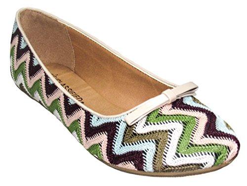 Womens S Earthy 5 Oxton Shoe D Multi M Classified 5 US City Flat twCq5f5