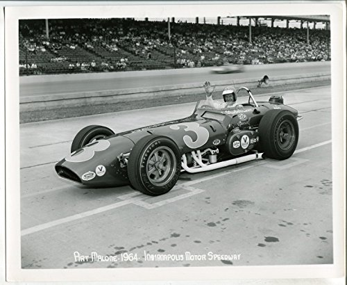 Indianapolis Motor Speedway Official 8 X 10 Indy 500 Photo-1964-Art Malone #3-FN
