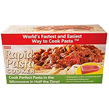 Amazon.com: Rapid Pasta Cooker | Microwave Any Pasta in