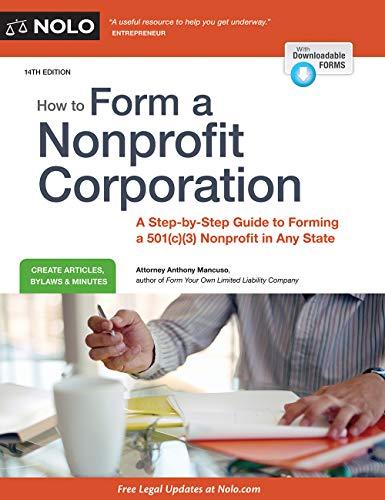 How to Form a Nonprofit Corporat...