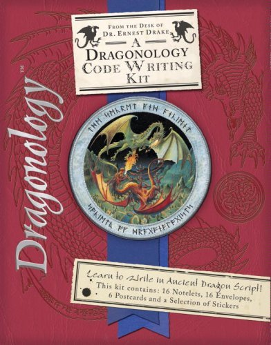 By Dr. Ernest Drake Dragonology Code-Writing Kit (Ologies) (Misc. Supplies) October 9, 2007