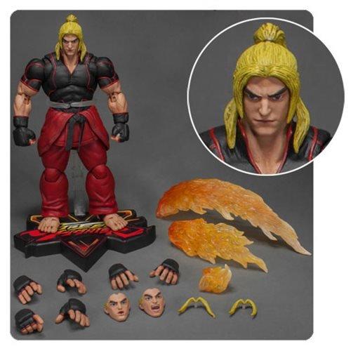 Street Fighter V Ken 1:12 Scale Action Figure