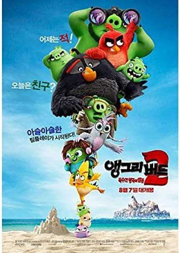 Amazon Com The Angry Birds Movie 2 2019 Korean Mini Movie