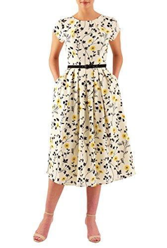 Buy belted drape dress - 8