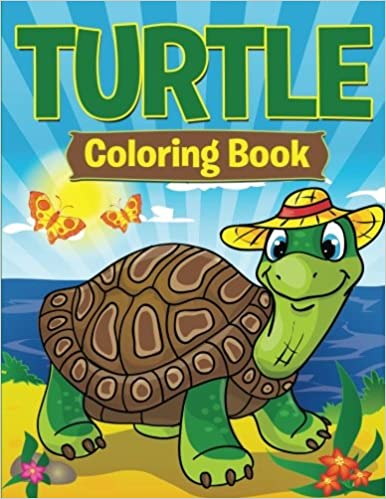 Turtle Coloring Book Speedy Publishing LLC 9781681853260 Amazon Books