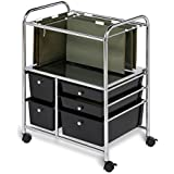 Honey-Can-Do CRT-01512 5-Drawer Hanging File Cart