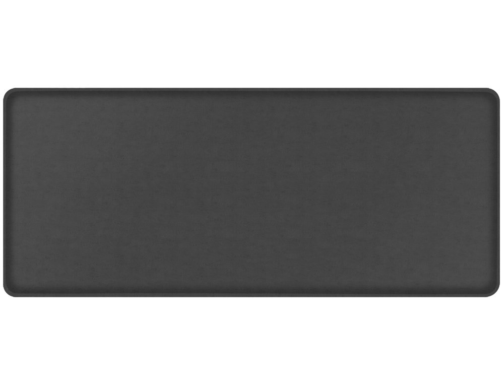 """GelPro Classic Anti-Fatigue Kitchen Comfort Chef Floor Mat, 20x48"""", Vintage Leather Rustic Slate Stain Resistant Surface with 1/2"""" Gel Core for Health and Wellness"""