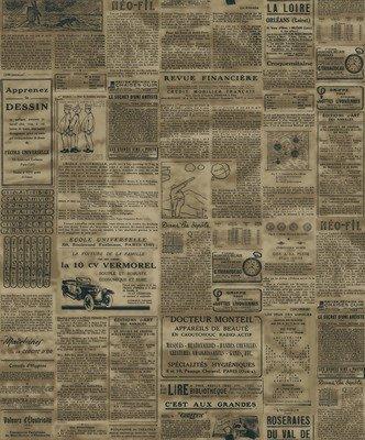 Zeitung Tapete thatch amerikanisches englisch zeitung tapete und retro café