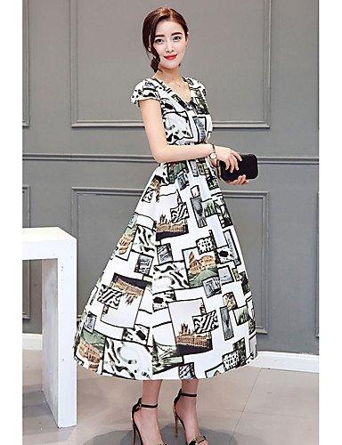 Rainbow Xuanku Les Femmes 039;S Facile Simple Quotidien T Shirt Dress,U Cou Maxi Long Sleeve Rose Foncé Rouge Noir Blanc Coton De Haute élévation D'été MultiCouleure XL
