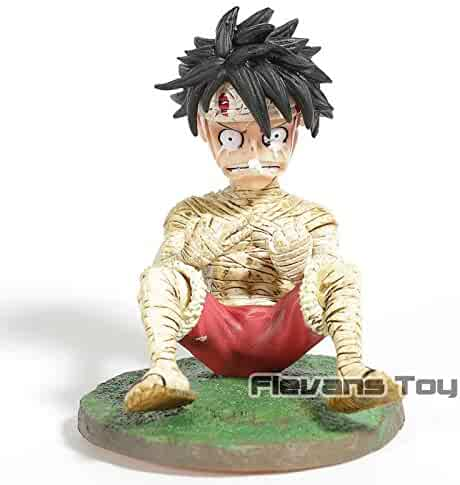 Anime Cartoon One Piece Monkey D Luffy Crying Ver Toys & Hobbies Pvc Statue Figure Collectible Model Toy