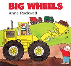 Big trucks come alive!       They're big. They're bright. They're powerful. Lifting, pushing, digging, dumping - big wheels get the tough jobs done.       Available for the first time as a board book, Big Wheels, is sure to become a fa...